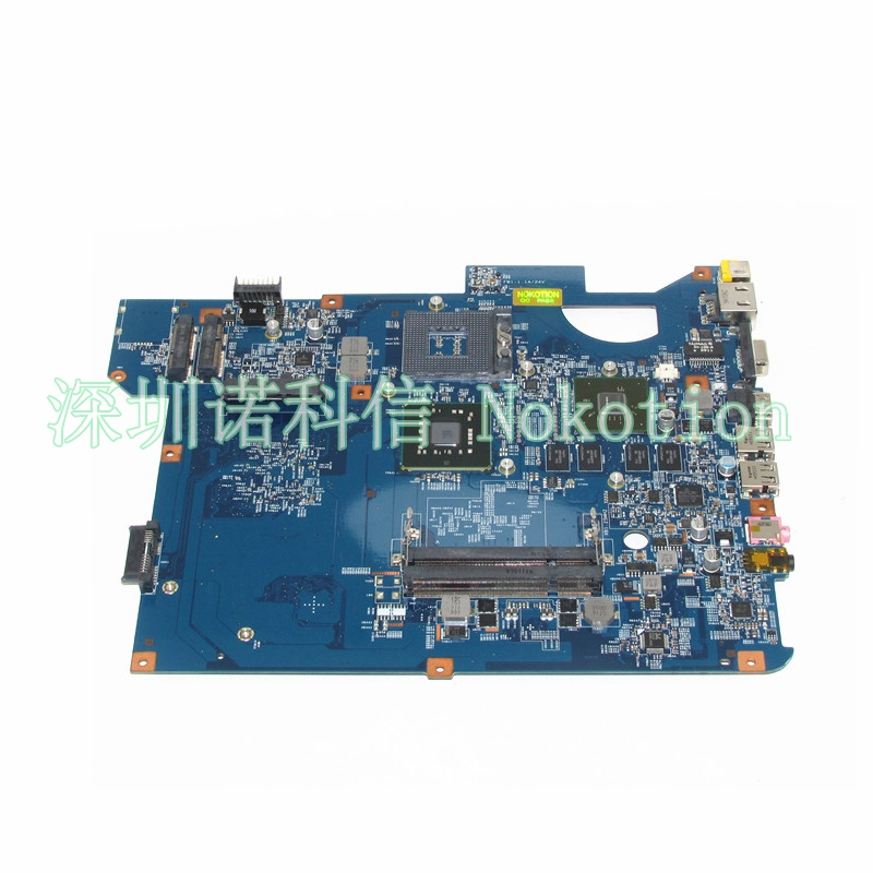 NOKOTION 48.4BU01.01N MB.WBN01.001 MBWBN01001 For Packard Bell TJ65 NV54 laptop motherboard GM45 DDR2 N10M-GE1-B free cpu la 5971p for lenovo g455 laptop motherboard hd 4250m ddr2 free cpu