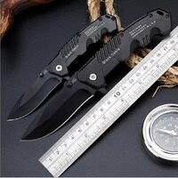 Тактический нож высокой твердости, Многофункциональный складной нож для выживания, ножи для самообороны