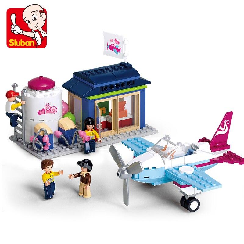 Sluban Строительные кирпичи блоки фантазия Летающий клуб совместимые друзья образование DIY Набор рождественские подарки Детские игрушки для девочек|toys for|lego friendschildren toys | АлиЭкспресс