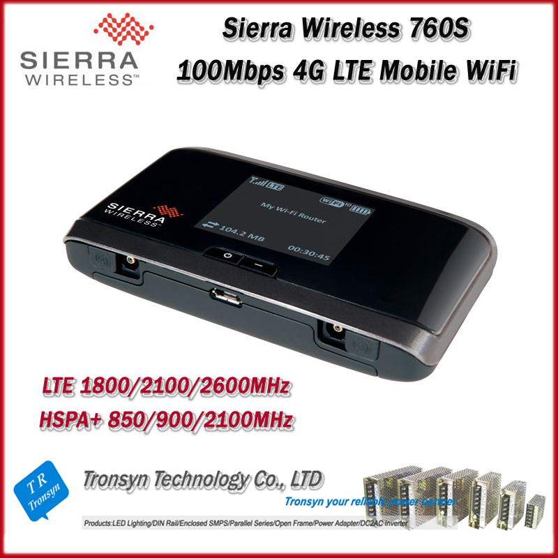 Wholesale Original Unlock LTE 100Mbps Sierra Wireless Aircard 760S 4G Sim Card Mobile WiFi Router And 4G LTE WiFi Router original unlock 100mbps sierra wireless aircard 340u 4g lte usb wifi dongle with lcd display support fdd 700 aws 1700 2100mhz