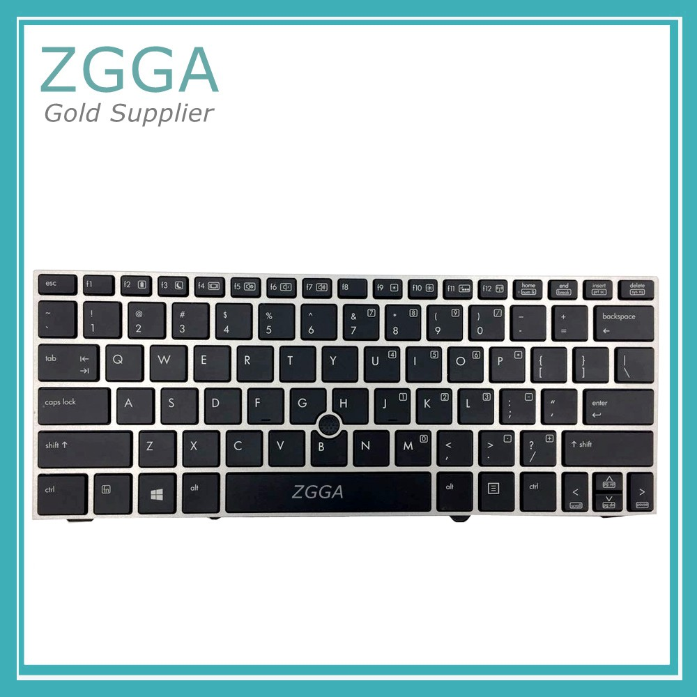 GENUINE New US Layout Keyboards for HP Elitebook 2170P 2170 Laptop Keyboard with Frame Backlit 707877-001 Aliexpress Good Seller best seller laptop keyboards for hp envy15 15 j000 15 j015 ru black with silver frame and backlit 9z n9hbv 40r
