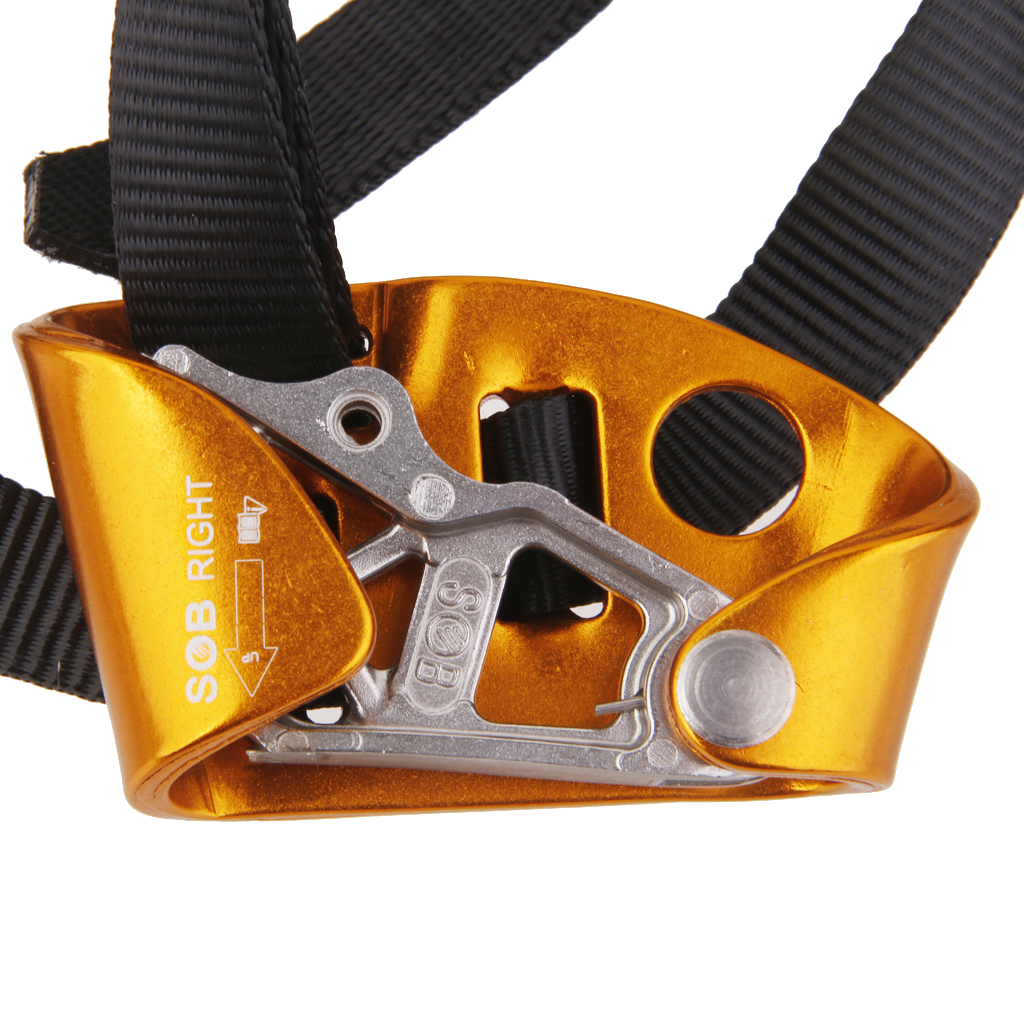 Image 4 - Right Or Left Foot Ascenders Equipment For Rock Climbing Tree Rigging Mountaineering Abseiling Rock Climbing Arborist GearClimbing Accessories   -