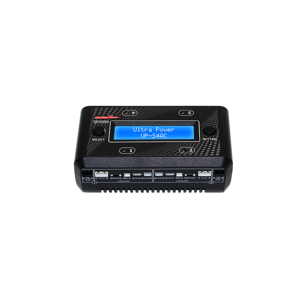 Emax Ultra Power UP S4AC 4x7W 1S LiPO/LiHV/NiMH/NiCd Battery Charger Support Micro MX mCPX JST For RC Plnae FPV Drone Racing-in Parts & Accessories from Toys & Hobbies