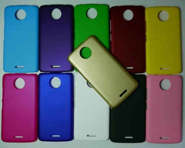 the best attitude b3a5b 393ee US $2.68 |Ultra Thin Colorful Matte Rubber Plastic Hard Back Cover Case For  Motorola Moto C/Moto C Plus (5.0