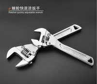 Free shipping ratchet wrench / multifunction fast adjustable wrench / adjustable wrench narrow space operations
