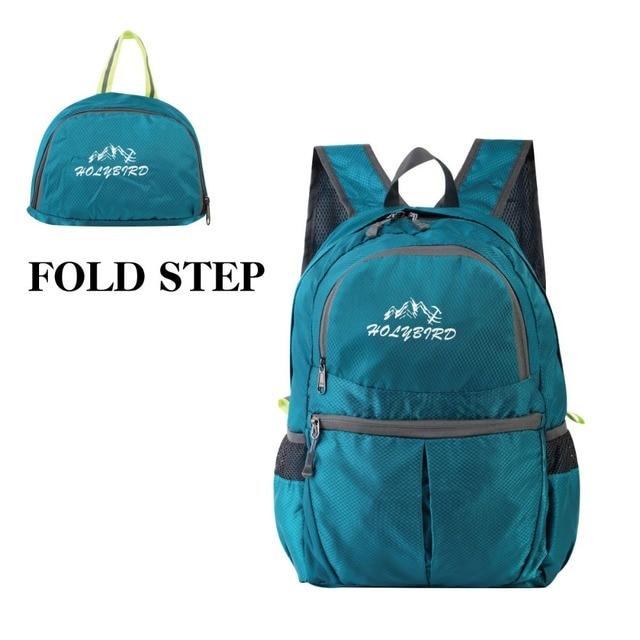 7f9632e69210 Outdoor Sports Backpack Travel Portable Folding Shoulder Bags Lightweight  Backpack Daily Travel Women Waterproof Bag Mochila