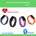 Betreasure ID107 Bluetooth Smart Bracelet smart band Heart Rate Monitor Wristband Fitness Tracker remote camera for Android iOS