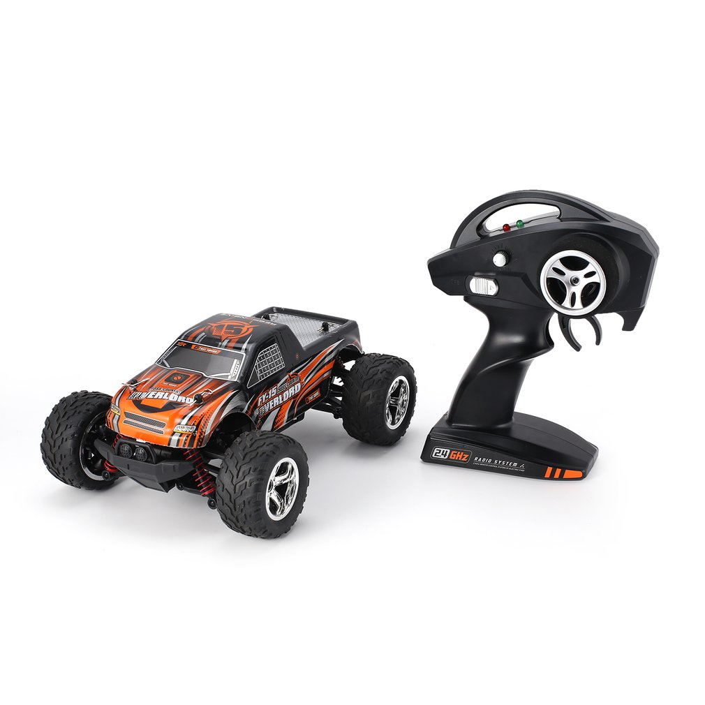 FY-15 1/20 Scale 2.4Ghz 4WD 25km/h High Speed RC Car Bigfoot Big Wheels Off-Road Rock Race Truck Electric RC Remote Control CarFY-15 1/20 Scale 2.4Ghz 4WD 25km/h High Speed RC Car Bigfoot Big Wheels Off-Road Rock Race Truck Electric RC Remote Control Car
