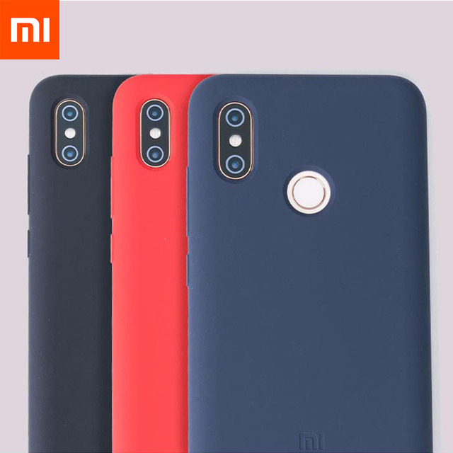low cost 7a49b b241c US $6.98 |Original Xiaomi Mi 8 Case Silicone Case Nature Liquid Rubber Soft  Phone Shockproof Case for Xiaomi Mi8 Shell Phone Cover-in Fitted Cases ...