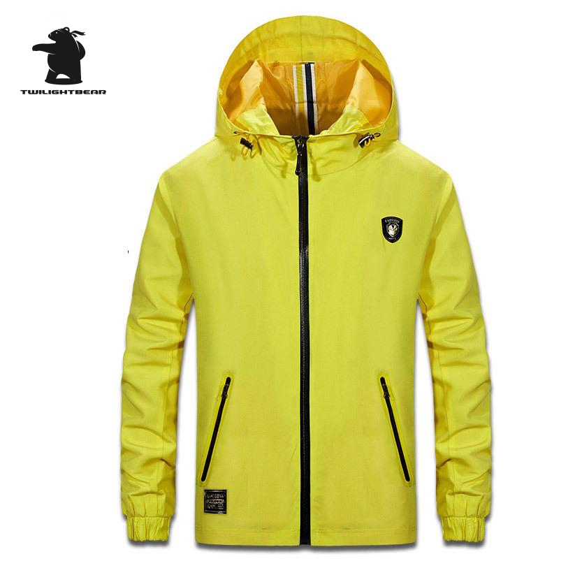 Spring New Mens Casual Jacket Fashion Hooded Waterproof Plus Size Casual Jacket For Men Loose Outwear Pull Home 3XL BF141