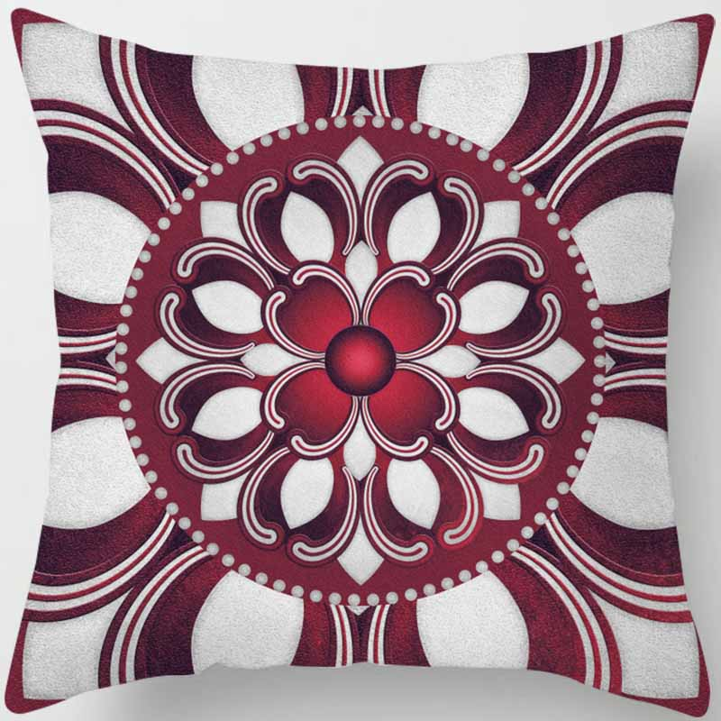 Fashion many shapes different patterns men women square pillow case round flowers pattern pillow cover in Pillow Case from Home Garden