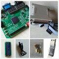 Free shipping LCD1602+xilinx fpga development board spartan6  xilinx board xilinx  xc6slx9-tqg144 fpga development board