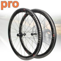 Elite Pro Series 700c Carbon Bicycle Wheel YAn R10 HUB 30/38/47/50/60mm 12K Twill Tubular Clincher Tubeless Road Bike Wheelset