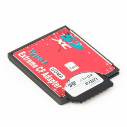 100% haute qualité unique Slot extrême pour Micro SD/SDXC TF à Compact Flash CF Type I lecteur de carte mémoire graveur adaptateur le plus récent