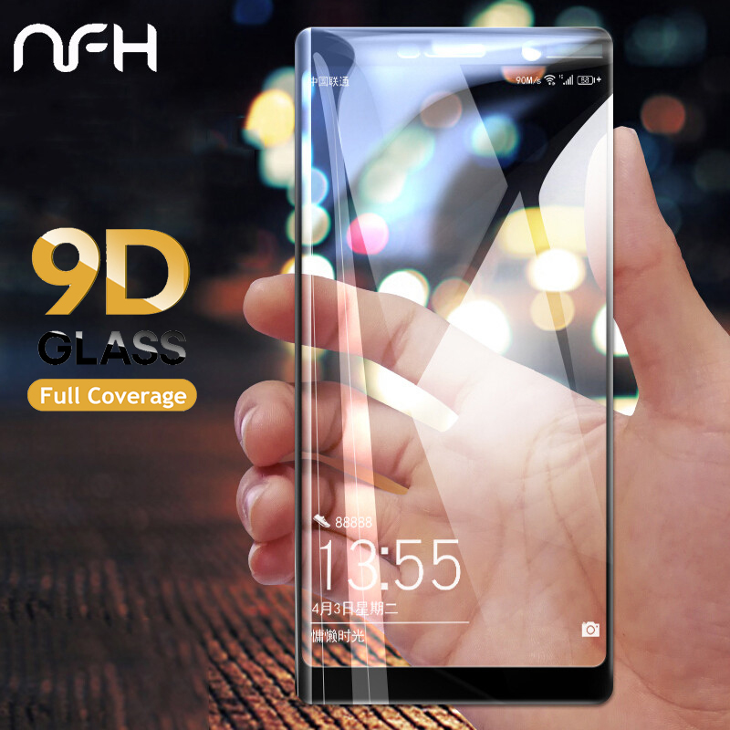 Tempered Glass For <font><b>Nokia</b></font> 3 5 6 7 8 Screen Protector for <font><b>Nokia</b></font> 2.1 3.1 5.1 6.1 <font><b>7.1</b></font> Plus 8.1 X5 X6 X7 2018 Full Cover Film image