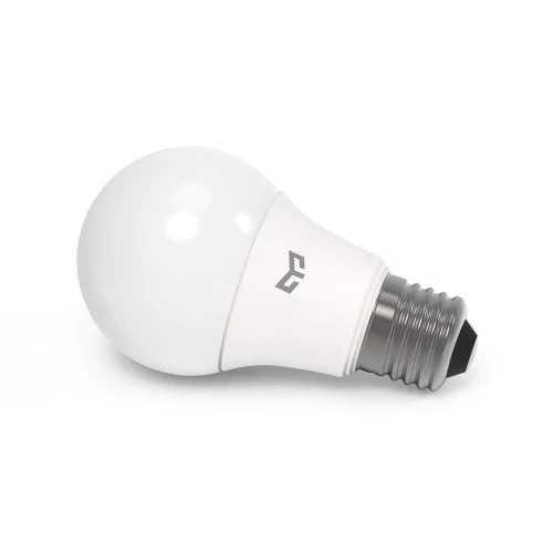חדש מקורי Xiaomi Mijia Yeelight קר הנורה לבן 7 W 6500 K E27 הנורה אור מנורת 220 V עבור תקרת מנורת שולחן מנורת זרקור