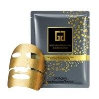 10 Pcs Face Beauty Maks Moisturizing Pure Black Gold Bio Collagen Facial Mask Skin Care Whitening