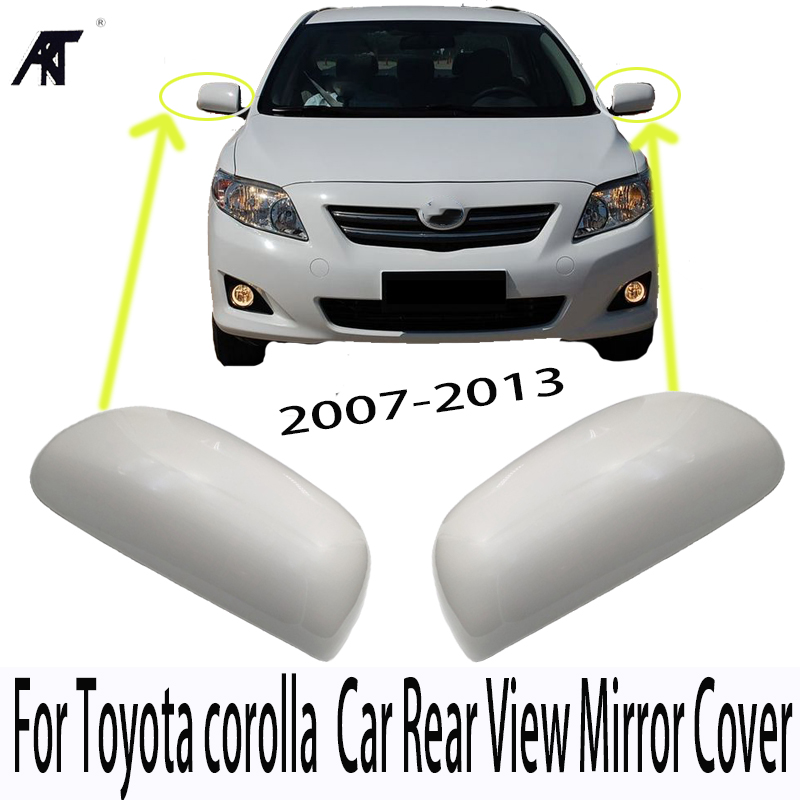 Outer Rearview Mirror Cover Housing For Toyota corolla 2007-2013 Car Rear View Mirror Cover 87945-02910 87915-02910
