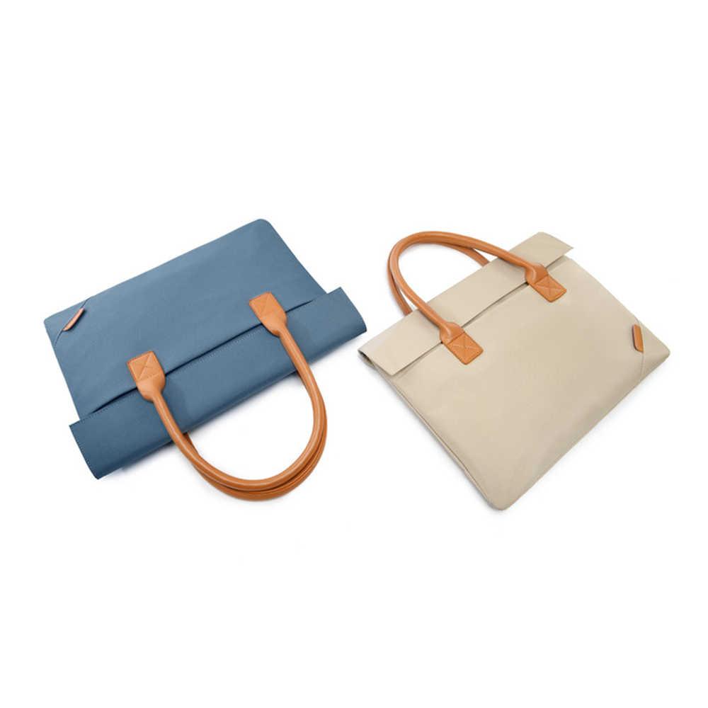 Новая Модная Портативная 14 дюймовая сумка для ноутбука чехол для Apple Macbook Air Pro retina lenovo ASUS портфель