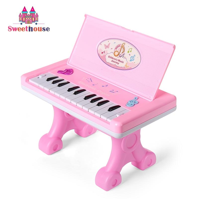 22 Teclas Piano Electrónico Juguetes para Bebés Teclado Instrumento - Educación y entrenamiento - foto 2