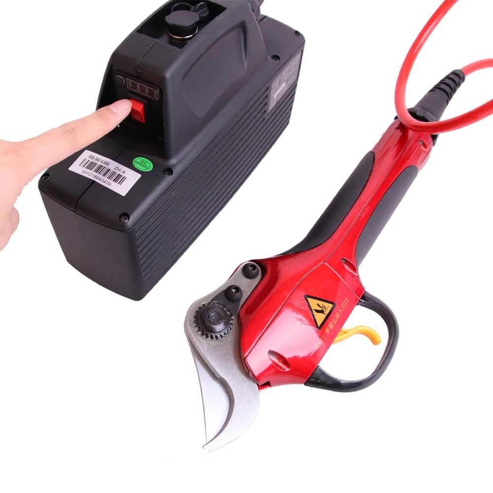 Ličio akumuliatorių greitaeigių elektrinių vynuogių genėjimo - Sodo įrankiai - Nuotrauka 2