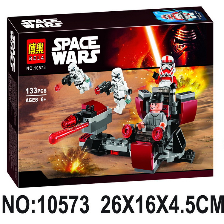 2017 Hot BELA 10573 Star Wars 7 La Fuerza Despierta Imperio Galactico Battli Figuras de Accion Building Blocks toy Bricks