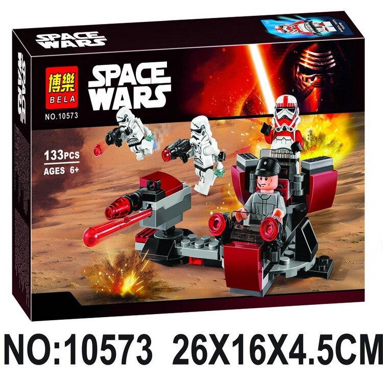 2017 Hot BELA 10573 Star Wars 7 La Fuerza Despierta Imperio Galactico Battli Figuras de Accion Building Blocks toy Bricks