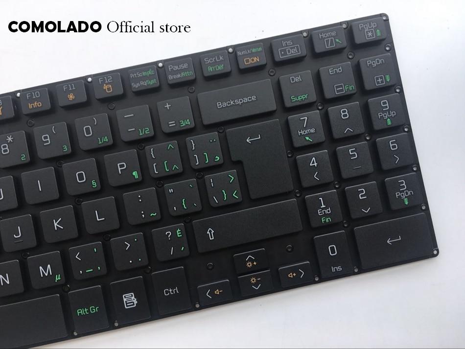 CF Canada-French keyboard for LG A530 A530-D A530-T A530-U P530 without frame black laptop keyboard CF layout (2)