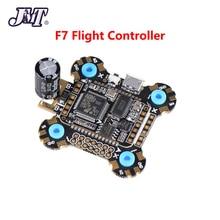 Jmt f722 f7 비행 컨트롤러 betaflight 2 6 s osd 5 v/2a bec 전류 25 v/1000 미크로포맷 커패시터 30x30mm 12.8g rc drone fpv 용