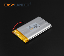 6x50x85mm 3.7V 3000mAh Rechargeable li-Polymer Li-ion Battery For Bluetooth Notebook Tablet PC Consumer electronics605085 065085