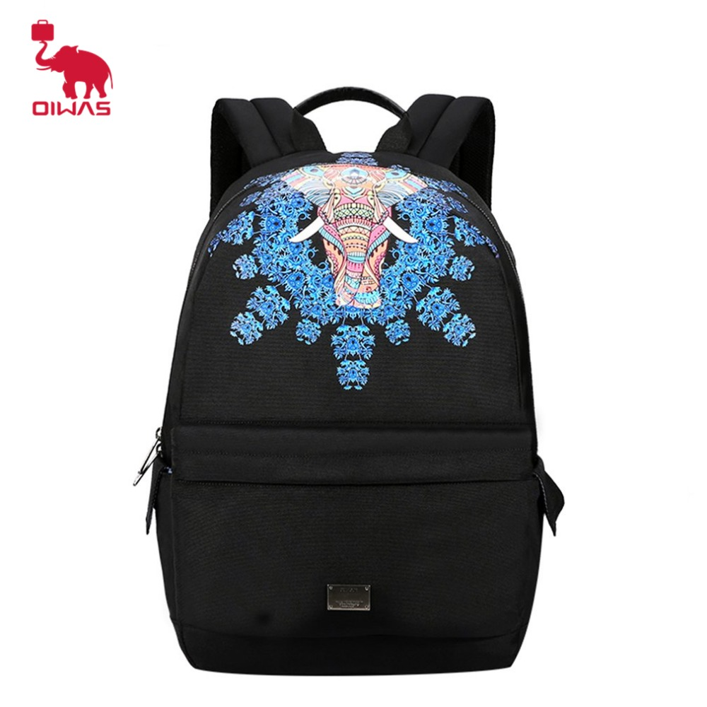 Oiwas Leisure Fashion Backpack Breathable Comfortable Padded Back Support Shoulder Bag Compatible With Tablet And Laptop Bag