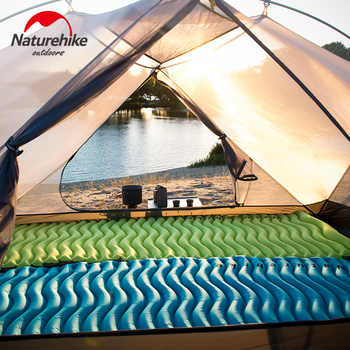 Ultralight Inflatable Sleeping Pad moistureproof Camping Mats Ultra-Compact Camp Mat Self-Inflating Camping Pads for Backpacking