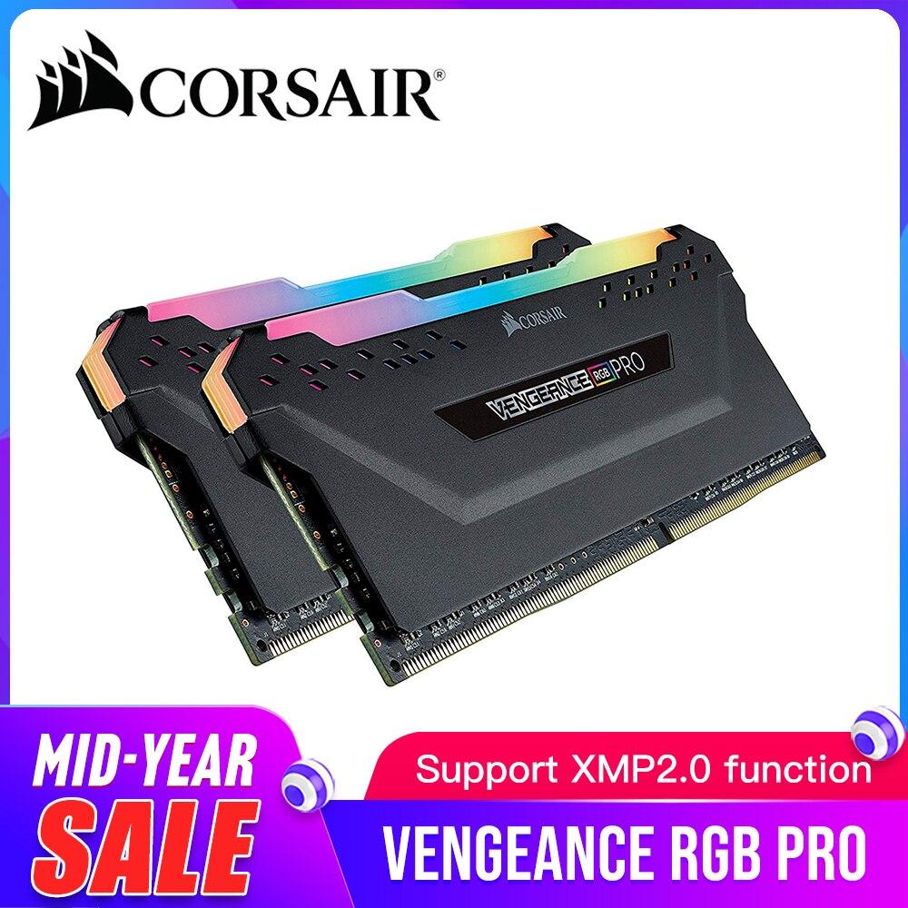 CORSAIR RGB PRO DDR4 RAM 8 GB 3000 MHz DIMM ordinateur de bureau de mémoire Support carte mère 8g 16g ddr4 3000 Mhz rgb ram 16 gb 32 gb
