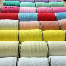 10 Yards(9.1m) /lot colorful Polyester lace Ribbon Embroidered Net Trim for Sewing clothing/wedding/Decoration/Scrapbooking