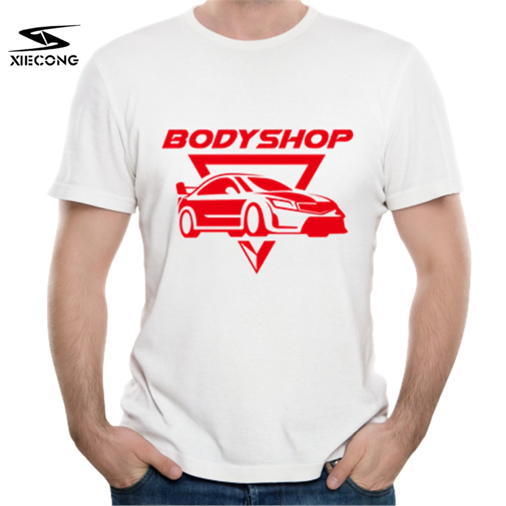 Body Shop printing Design 100% CottonShort Sleeve Casual Summer T Shirt Hipster Breathable Comfort LQ-LL-5-664