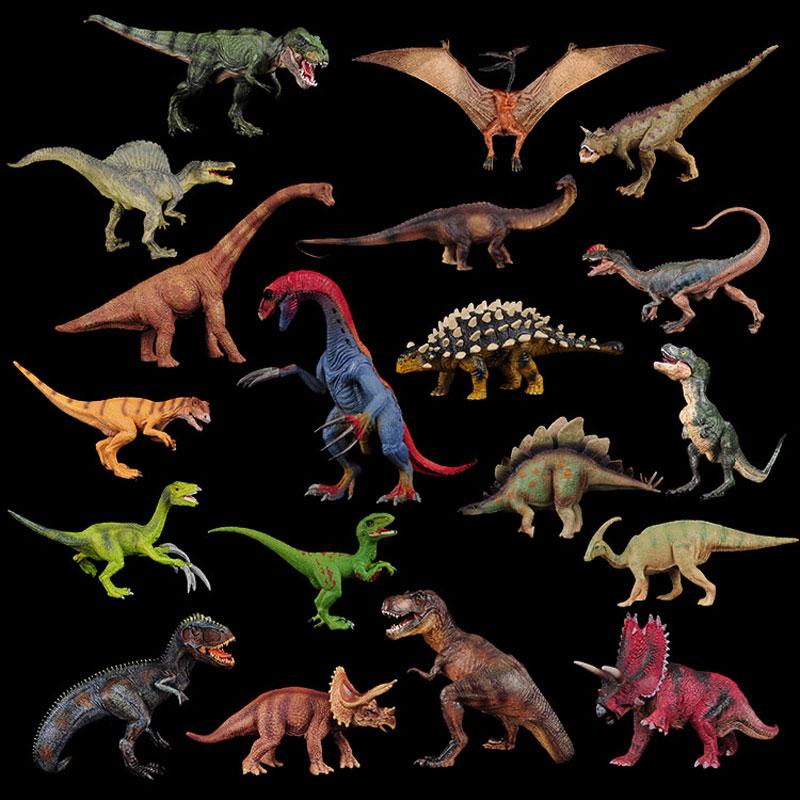 Jurassic Therizinosaurus T-Rex Triceratops Allosaurus Spinosaurus Dinosaur World Simulation PVC Action Figures Model Toy For Boy