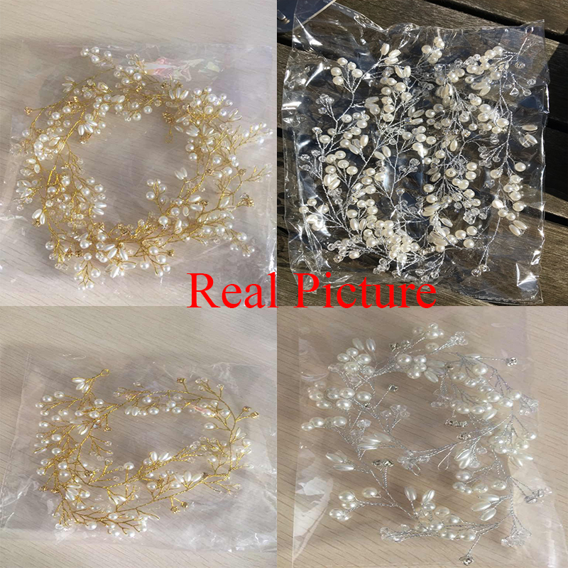 Idealway Handmade Bridal Crystal Rhinestone Hair Piece Әйелдер - Сәндік зергерлік бұйымдар - фото 3