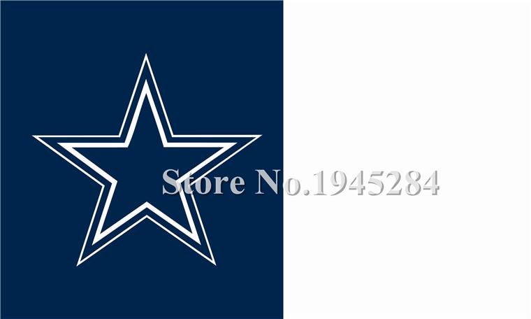 ⊹NFL Dallas Cowboys bandera nuevo 3x5ft 90x150 cm bandera del ...