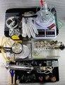 Бесплатная доставка лабораторное оборудование набор инструментов химия эксперимент лабораторные инструменты, изделия из стекла трубки, колбы, бутылки реагента химии