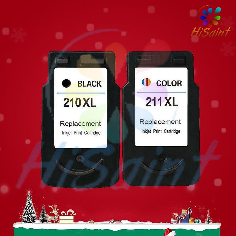 Hisaint Free Shipping 2018 2PK PG 210XL CL 211XL 210 211 Ink For Canon PIXMA MX320 MX330 MX340 MX350 MX360