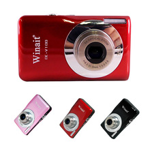 цена на 5MP CMOS Sensor Digital Camera 15 Mega Pixels With 4X Digital zoom 5X Optical Zoom Mini Camera SD Card Up To 32GB