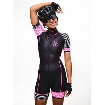 sección especial vendible donde puedo comprar 2019 kafitt mujeres Columbia cuerpo equipo triatlón personalizado bicicleta  ciclismo ropa maillot skinsuit conjuntos correr hecho en China >> ...