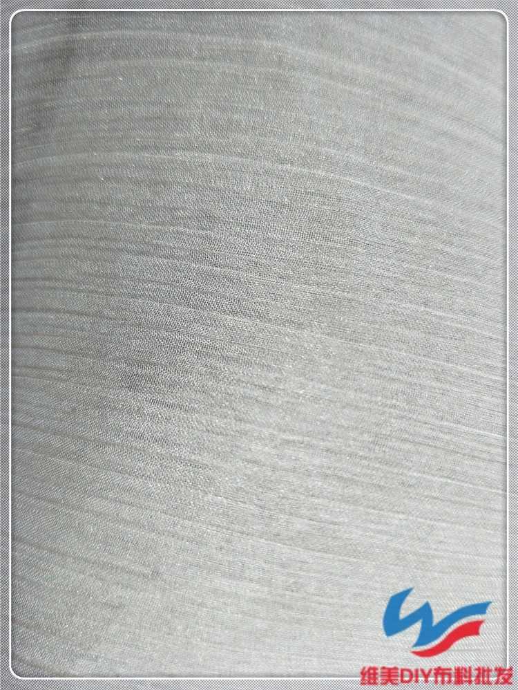 High-grade ultra-fino e ultra-transparente Shun Tencel tecido crepe Chiffon