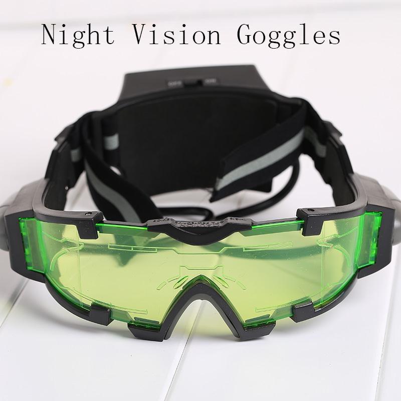 Prix pour Enfants Nuit Vision Lunettes Lunettes Étanche Réglable Protéger Sécurité Eyeshield Vitesses Jouet Oeil Randonnée Lunettes