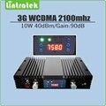 Усилитель сигнала мобильного телефона с усилителем сигнала AGC/MGC/ЖК-дисплеем  90 дБ  10 Вт  40 дБм  3G  WCDMA  2100 МГц  3G  UMTS  2100 МГц
