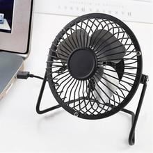 Portable Mini USB Fan Table Desk Fans Personal Super Mute Si