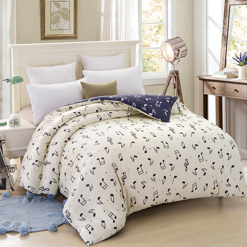 Music Notes Sheets Bedding