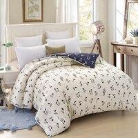 Wongsbedding Music Symbol Bedding Set 100% Cotton Beige Blue Duvet Cover Sets Bedlinen Bedclothes Twin Queen King Size 3/4PCS