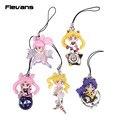 Twinkle Dolly Sailor Moon Mini PVC Figuras de Colección Modelo Juguetes Muñecas Colgantes 5 unids/set 5 cm