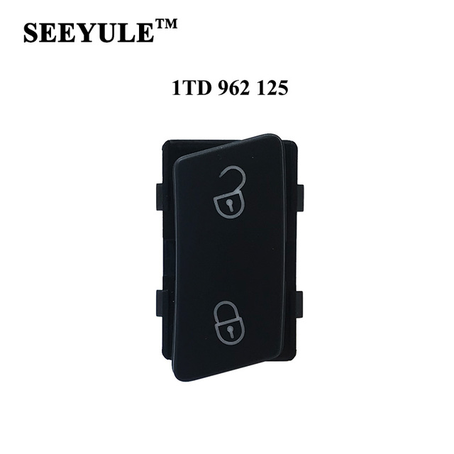 1pc SEEYULE 1TD 962 125 Car Door Lock Unlock Switch Door Control Safe Button for VW Touran Caddy